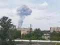 VIDEO Požiar a explózie v ruskej továrni na výbušniny, zranených je najmenej 79 ľudí