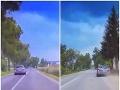 Vodička šla zo svadby: VIDEO z jej jazdy zachytil policajt, neuveriteľné, čoho sa dopustila