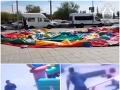 Hororové VIDEO: Skákací hrad prevrátil nárazový vietor, štyri deti ležia v kóme, rodičia sa zrútili