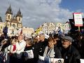 Česi idú do ulíc: Najväčšie demonštrácie od socializmu, chcú odchod Babiša a ministerky