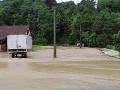 VIDEO Silné dažde spôsobili v Srbsku záplavy: Mimoriadne opatrenia, zaplavilo domy