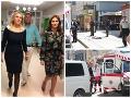 FOTO Ako sa má dievča postrelené v Bratislave? Ministerská vizita, Kalavská a Saková ho prišli navštíviť