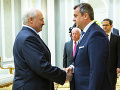 Stretnutie Andreja Danka a Alexandra Lukašenka