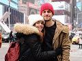 Vo februári dvojica s Noelom v brušku stihla ešte výlet do Ameriky.