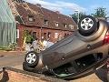 VIDEO Západ Nemecka zasiahlo pravdepodobne tornádo, niekoľko domov je poškodených
