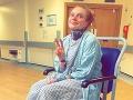 Umelkyňa spadla zo schodov: FOTO Lekári ju po vyšetrení poslali domov, kvôli ich chybe ochrnula