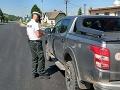 FOTO Vodič (37) trielil šialenou rýchlosťou: Polícia nemala zľutovanie, muž dostal mastnú pokutu