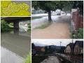 Prvé búrky zasiahli Slovensko: VIDEO povodne pri Trenčíne, dnes to má byť ešte horšie