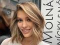 Jasmina Vrbovská Alagič si krátko po svadbe nechala radikálne upraviť vlasy.