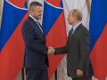 Peter Pellegrini a Vladimir Putin