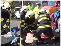 Akčné VIDEO zo zrážky dvoch áut pri Bardejove: Záchranné zložky predviedli ukážkovú spoluprácu