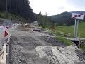 Doprava pred horským priechodom Vernár je výrazne obmedzená: Dôvodom je oprava mosta