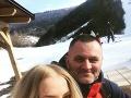 Zuzana Vačková už nejaký ten piatok tvorí pár s Petrom, s ktorým sa zoznámila na lyžovačke.