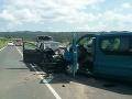 PRÁVE TERAZ Vážna dopravná nehoda v Spišskej Belej: FOTO Sedem ranených, medzi nimi aj deti