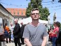 Podporiť projekt prišiel aj Boriš Pršo, ktorý moderoval malú talk show. Napriek tomu, že pred dvomi rokmi prekonal mŕtvicu, optimizmus nestrácal.