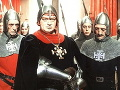 Karel Effa po boku kráľa Kazisveta v rozprávke Princezná so zlatou hviezdou