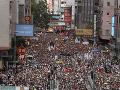 Demonštrácie v Hongkongu neutíchajú: Bojujú proti návrhu zákona o extradícii