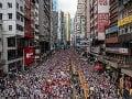 USA podporili myšlienku protestov v Hongkongu: Nesúhlasia so zákonom o extradícii