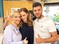 Tomáš Juríček už nejaký ten piatok tvorí moderátorský tandem s Kvetou Horváthovou v Teleráne.