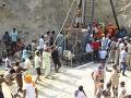 Záchranári chlapčeka vyslobodzovali takmer 110 hodín.