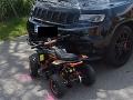 Dráma pri Nitre: FOTO Iba sedemročný chlapec na štvorkolke vbehol pod kolesá tereňáku