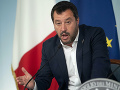Salvini pád vlády odmieta: Vyjadril nedôveru voči koaličným partnerom