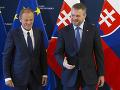 Donald Tuska a Peter Pellegrini