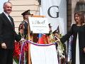 VIDEO Kiskov posledný akt v pozícii prezidenta: Nové námestie ponesie meno po Masarykovi