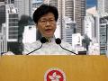 Správkyňa Hongkongu s upozornením: Krajine hrozí ekonomický pokles, vylúčila ústupky