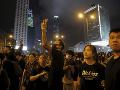 FOTO Protest v Hongkongu dosiahol masívnych rozmerov: Takmer dva milióny ľudí v uliciach