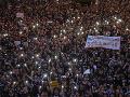 Samospráva v Hongkongu odsúdila výtržnosti demonštrantov počas protestov