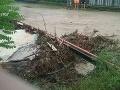 Hasiči pre nepriaznivé počasie zasahovali pri viac ako šesťdesiatich prípadoch
