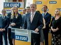 Kiska vstúpil do boja o moc: Mladí, starí aj pomoc Radičovej! Stranu predstavil v srdci Slovenska