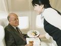 FOTO Pasažier sa takmer pozvracal, keď videl, aké jedlo mu naservírovali v lietadle