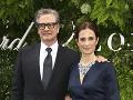 Colin Firth s manželkou Liviou