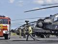 FOTO Americké vrtuľníky dotankovali v Piešťanoch: Rezort obrany však medzipristátie odmietol