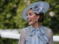 Vojvodkyňa Kate mala skvelú náladu.