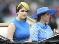 Princezná Eugenie a jej sestra Beatrice sa veľkej parády tiež zúčastnili.