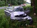 FOTO Šofér predbiehal cez plnú čiaru, čelná zrážka: To, čo potom urobil, nemá obdoby