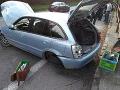Na Orave sa strieľalo: Poľský vodič unikal pred policajtmi z miesta nehody