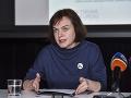 Riaditeľka nadácie Zastavme korupciu Zuzana Petková
