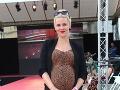 Dobehla aj Kristína Tormová so zmenenou farbou vlasov, ktorá ukázala rastúce tehotenské bruško.