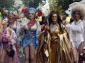 Ulice Kyjeva rozžiarila dúha: Na pochode za práva LGBT prišlo takmer tritisíc ľudí