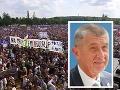 Protivládna demonštrácia v Prahe: Prišlo okolo 250-tisíc ľudí, Babiš nerozumie, prečo protestujú