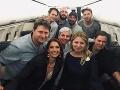 Umelci z vládneho špeciálu: Nvotová reaguje na kritiku, FOTO s prezidentkou na palube