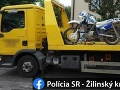 Policajni zastavili poriadne opitého vodiča motocykla z Oravy: Nafúkal takmer 2,5 promile