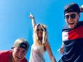 Veronika Kopřivová trávi veľa času so svojím novým priateľom a jeho bratom.