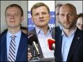 Miroslav Beblavý, Alojz Hlina a Michal Truban
