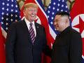 Donald Trump a Kim
