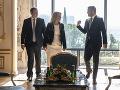 Čaputová, Danko a Pellegrini sa prihlásili k zodpovednej a jednotnej zahraničnej politike SR